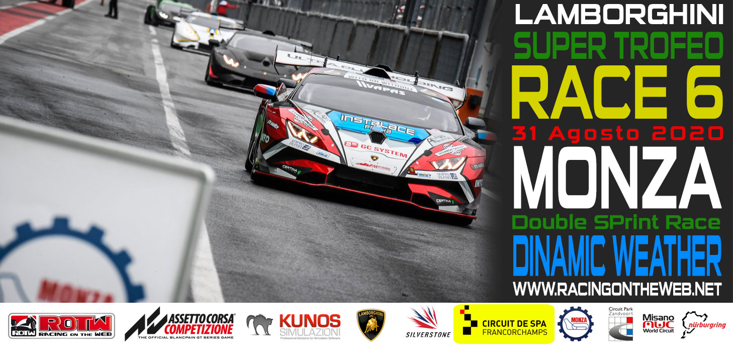 Super Trofeo next Race