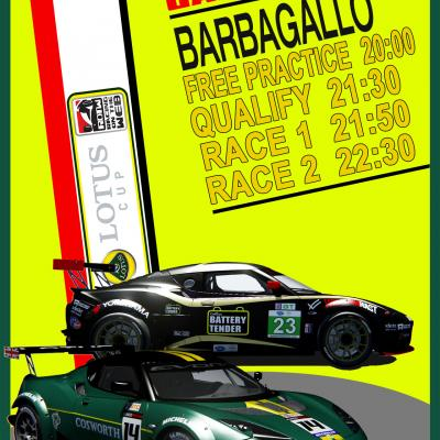 Barbagallo Lotus Cup 2018