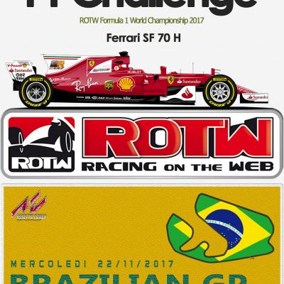 Interlagos GP ROTW F1 Challenge 2017
