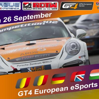 GT4 European eSports Series - Gara 2 Brands Hatch