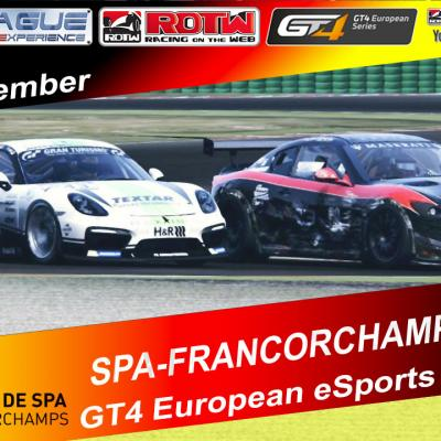 GT4 European eSports Series - Gara 4 Spa-Francorchamps