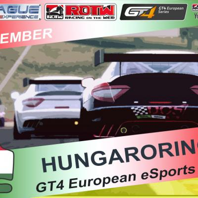 GT4 European eSports Series - Gara 5 Hungaroring